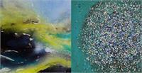 "Nicole Ressar Elocin Art - Serie Level one ""Kraft der Elemente"" <br>Eva Pötzelsberger ""Landschaft"""