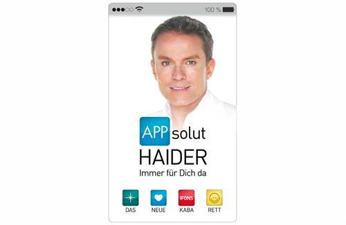"""Salzburg Premiere: Alfons Haider """"APPsolut Haider – Immer für Dich da!"""" - Kabarett"""